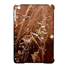 Ice Iced Structure Frozen Frost Apple Ipad Mini Hardshell Case (compatible With Smart Cover)