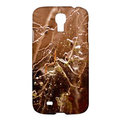 Ice Iced Structure Frozen Frost Samsung Galaxy S4 I9500/i9505 Hardshell Case