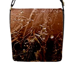 Ice Iced Structure Frozen Frost Flap Messenger Bag (l)