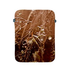 Ice Iced Structure Frozen Frost Apple Ipad 2/3/4 Protective Soft Cases