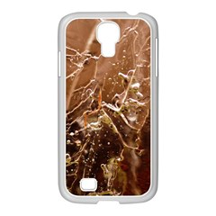 Ice Iced Structure Frozen Frost Samsung Galaxy S4 I9500/ I9505 Case (white)