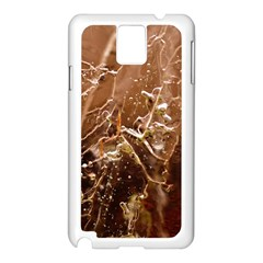 Ice Iced Structure Frozen Frost Samsung Galaxy Note 3 N9005 Case (white)