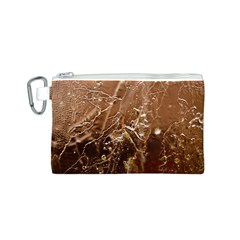 Ice Iced Structure Frozen Frost Canvas Cosmetic Bag (s)