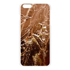 Ice Iced Structure Frozen Frost Apple Seamless iPhone 6 Plus/6S Plus Case (Transparent)