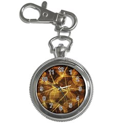 Leaves Autumn Texture Brown Key Chain Watches