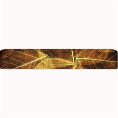 Leaves Autumn Texture Brown Small Bar Mats
