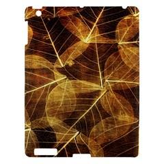 Leaves Autumn Texture Brown Apple Ipad 3/4 Hardshell Case