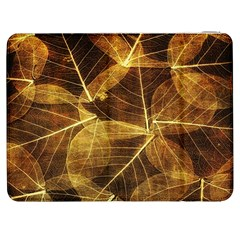 Leaves Autumn Texture Brown Samsung Galaxy Tab 7  P1000 Flip Case