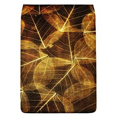 Leaves Autumn Texture Brown Flap Covers (l)