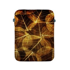 Leaves Autumn Texture Brown Apple Ipad 2/3/4 Protective Soft Cases