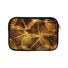 Leaves Autumn Texture Brown Apple Ipad Mini Zipper Cases