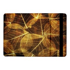 Leaves Autumn Texture Brown Samsung Galaxy Tab Pro 10 1  Flip Case