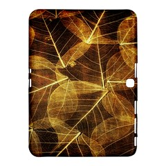Leaves Autumn Texture Brown Samsung Galaxy Tab 4 (10.1 ) Hardshell Case