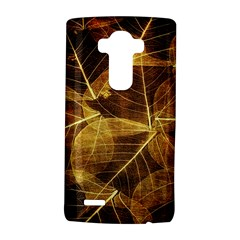 Leaves Autumn Texture Brown LG G4 Hardshell Case