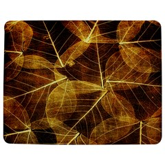 Leaves Autumn Texture Brown Jigsaw Puzzle Photo Stand (rectangular)