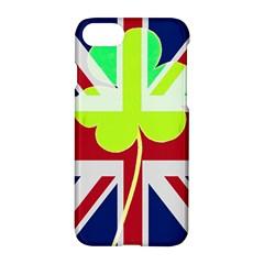 Irish British Shamrock United Kingdom Ireland Funny St  Patrick Flag Apple Iphone 7 Hardshell Case