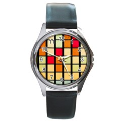 Mozaico Colors Glass Church Color Round Metal Watch