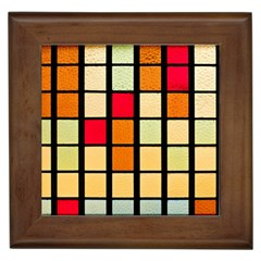 Mozaico Colors Glass Church Color Framed Tiles