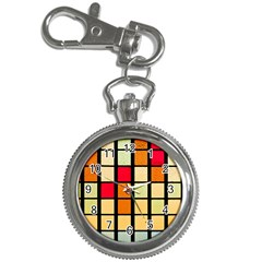 Mozaico Colors Glass Church Color Key Chain Watches