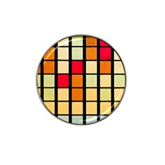 Mozaico Colors Glass Church Color Hat Clip Ball Marker (4 pack)