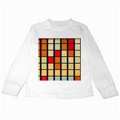 Mozaico Colors Glass Church Color Kids Long Sleeve T Shirts