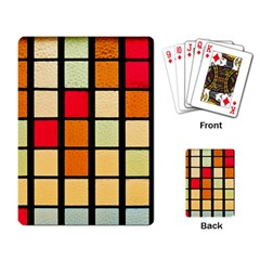 Mozaico Colors Glass Church Color Playing Card