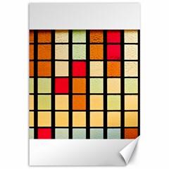 Mozaico Colors Glass Church Color Canvas 12  X 18