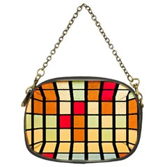 Mozaico Colors Glass Church Color Chain Purses (two Sides)