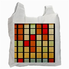 Mozaico Colors Glass Church Color Recycle Bag (two Side)