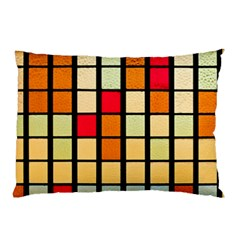 Mozaico Colors Glass Church Color Pillow Case (two Sides)