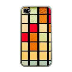Mozaico Colors Glass Church Color Apple Iphone 4 Case (clear)