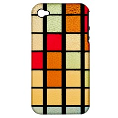 Mozaico Colors Glass Church Color Apple Iphone 4/4s Hardshell Case (pc+silicone)