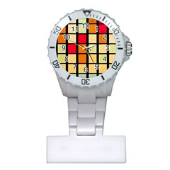 Mozaico Colors Glass Church Color Plastic Nurses Watch