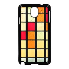 Mozaico Colors Glass Church Color Samsung Galaxy Note 3 Neo Hardshell Case (black)