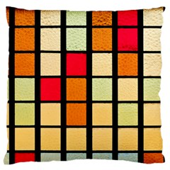 Mozaico Colors Glass Church Color Large Flano Cushion Case (two Sides)