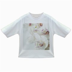 Orchids Flowers White Background Infant/toddler T Shirts