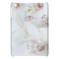 Orchids Flowers White Background Apple Ipad Mini Hardshell Case