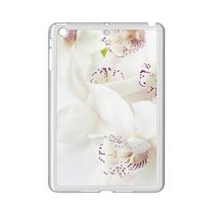 Orchids Flowers White Background Ipad Mini 2 Enamel Coated Cases