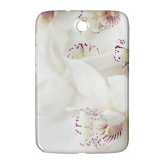 Orchids Flowers White Background Samsung Galaxy Note 8 0 N5100 Hardshell Case