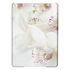 Orchids Flowers White Background Ipad Air Hardshell Cases