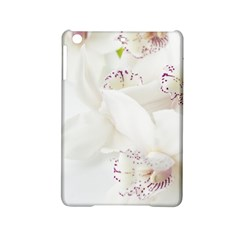Orchids Flowers White Background Ipad Mini 2 Hardshell Cases