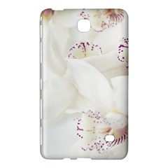 Orchids Flowers White Background Samsung Galaxy Tab 4 (8 ) Hardshell Case