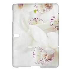 Orchids Flowers White Background Samsung Galaxy Tab S (10 5 ) Hardshell Case