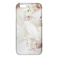 Orchids Flowers White Background iPhone 6/6S TPU Case