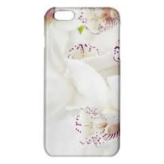 Orchids Flowers White Background iPhone 6 Plus/6S Plus TPU Case