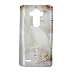 Orchids Flowers White Background Lg G4 Hardshell Case