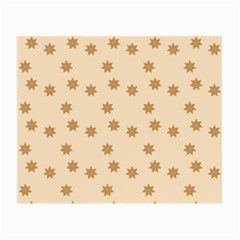 Pattern Gingerbread Star Small Glasses Cloth (2 Side)