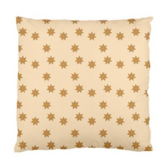 Pattern Gingerbread Star Standard Cushion Case (two Sides)