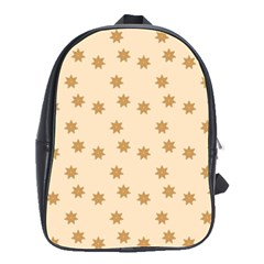 Pattern Gingerbread Star School Bags(large)