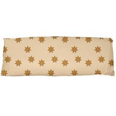Pattern Gingerbread Star Body Pillow Case (dakimakura)